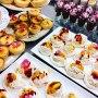 Passion Fruit Pavlovas, Lemon Tarts & Chocolate Mousse Shots