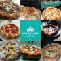 A selection of Pizza