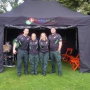 first aid tent at event