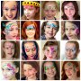 Girls Face Painting designs by Fey Faces