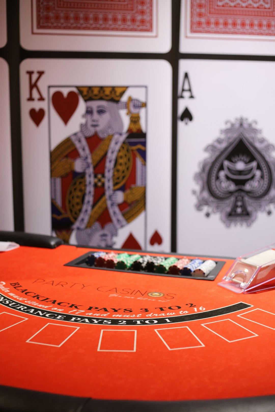 Hollywood poker room