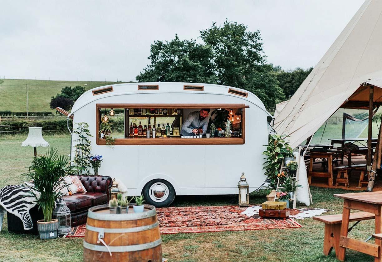 Bubble Bar Vintage Caravan Bar