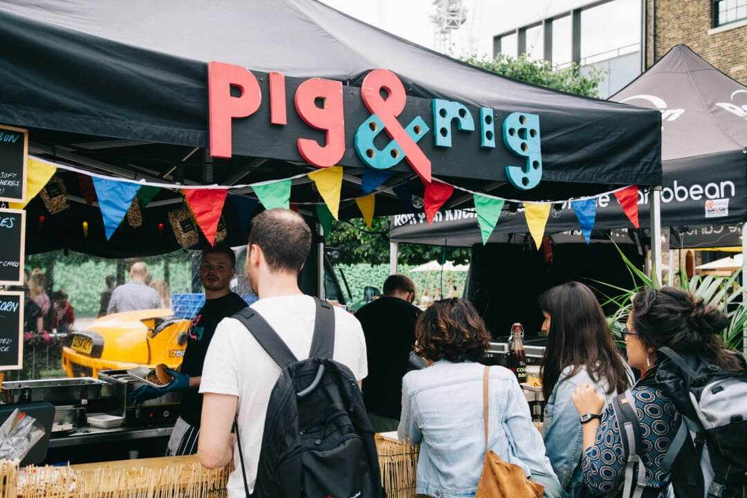 We chat to Jacob and Will about how they merged their love of food and music to create their portable party business Pig & Rig.