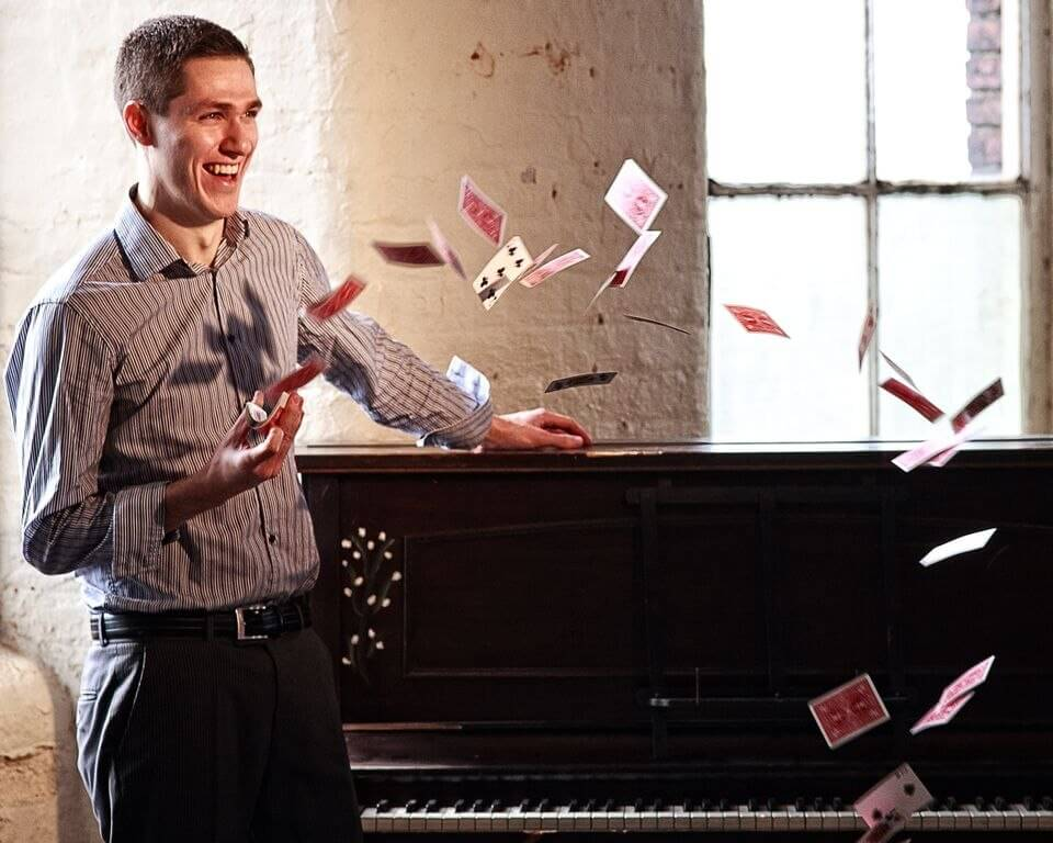 David Deanie is a magician using Add to Event to find new business, we chat to him to find out more about being a self-employed magician.